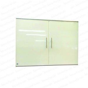"""ตู้แขวนผนังคู่ (เจด) สีขาว """"PLATINUM"""""""