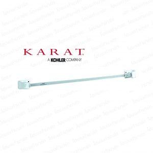 ราวแขวนผ้า (K-17055X) คาปรี สีขาว กะรัต