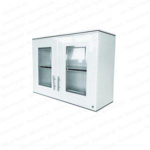 """ตู้แขวนผนังคู่ (เซอร์คอน) สีขาว """"PLATINUM"""""""