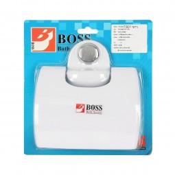 """ที่แขวนทิชชู (T-801) สีขาว """"BOSS"""""""