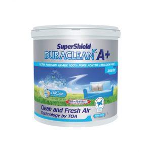 """สีน้ำดูราคลีนออกซิเจน พลัส (2.5กล.) กึ่งเงา เบส A """"ทีโอเอ"""""""