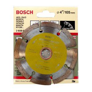 """ใบเพชรตัดแห้ง BOSCH (บอสช์) 4"""" (เกรด A)"""