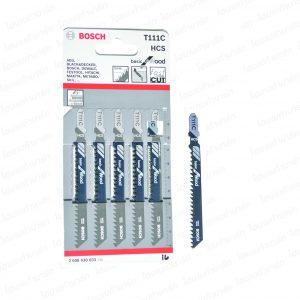 ใบเลื่อยจิกซอว์ (T111 C) (ตัดไม้) BOSCH (บอสช์)