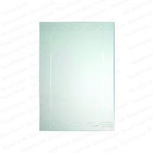 """กระจกเงาดีไซน์ 60*80 ซม. #JLL-1091 """"PEARL"""""""