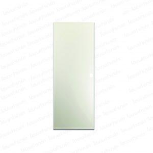 ประตูพีวีซี 70*200ซม. (B1-ครีม) เจาะ บาธติค
