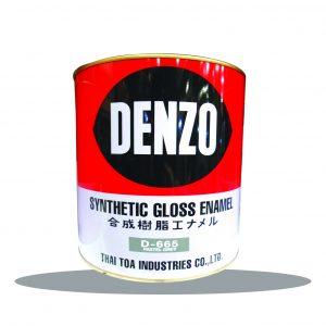 สีน้ำมัน (1กล.) #665 DENZO-เดนโซ่