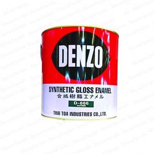 สีน้ำมัน (1กล.) #666 DENZO-เดนโซ่