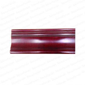"""ไม้บัวพีอี BB2190-2 (ไม้แดง) """"555"""" 4""""*1/2"""" (มอบฝ้า)"""