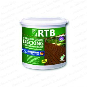 """สีทาพื้นไม้ (1กล.) #DF-6203-M สีไม้โอ๊ค """"โรเธนเบิร์ก"""" (ด้าน)"""