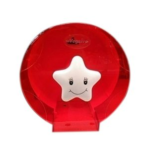 """กล่องกระดาษทิชชู V676-1 สีแดง """"VEGARR"""""""