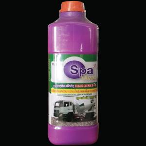 """น้ำยา-ขจัดคราบปูน 1ล. (Class Clean X-II) สูตรเข้มข้น """"SPA CLEAN"""""""