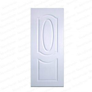 ประตู UPVC 80*200ซม. (PNR-002) สีขาว โพลีวูด