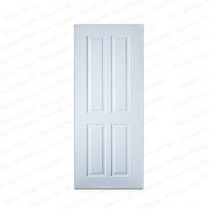 ประตู UPVC 80*200ซม. (PNR-005) สีขาว โพลีวูด