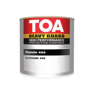 """สีทนความร้อน ชิลการ์ด 400 องศา (1กล.) Heavy Guard (สีดำ) """"ทีโอเอ"""""""